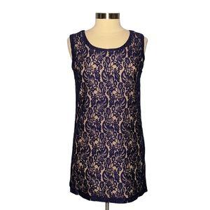 Francesca's Collection Medium Lace Shift Dress